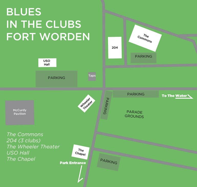 August 3: Blues in the Clubs | Centrum